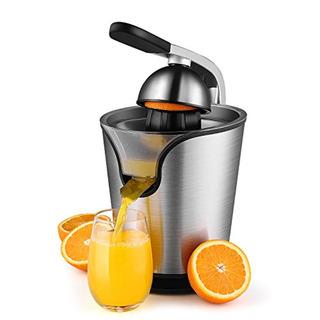 Flexzion Hand Press Electric Citrus Orange