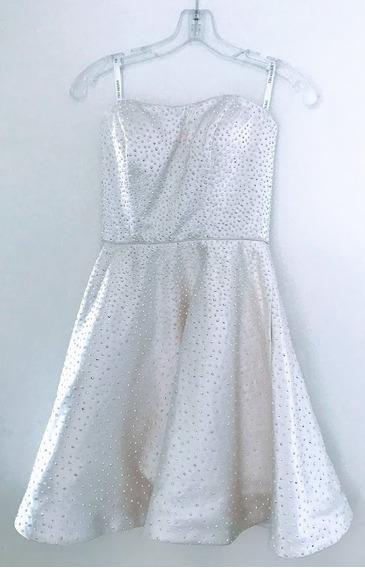 Vestido Unico Sherri Hill Corto Cristales Swarovski De Eeuu