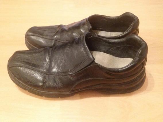 Vendo Mocasines Zapatos Febo Negro Hombre 40 Muy Buenos