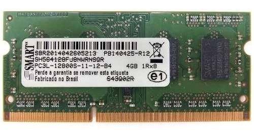 2 Memória Ram Smart 4gb Ddr3 1600 Sodimm P/ Notebooks Origin