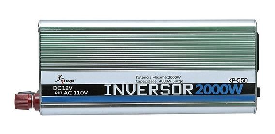 Inversor Automotivo Veicular 2000w 12v 110v Ou 220v Knup
