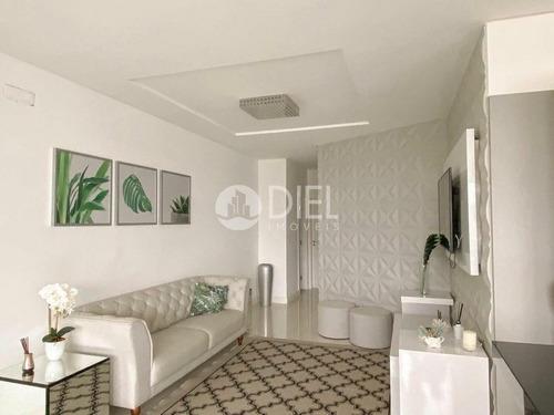 Apartamento Totalmente Mobiliado Na Quadra Do Mar - 2055