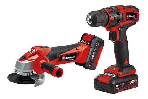 Power Tool Kit (taladro + Esmeril Inalambrico) Tc-tk 18 Li K