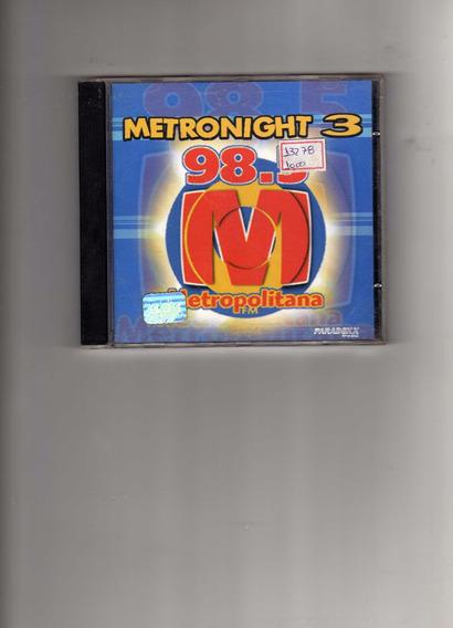 Cd - Metronight 3 - Bom Estado