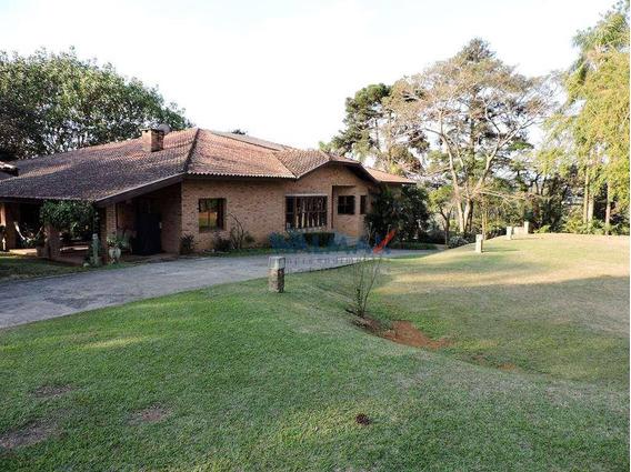 Casa Com 4 Dormitórios À Venda, 1013 M² Por R$ 4.000.000 - Vila Santo Antônio - Cotia/sp - Ca0223