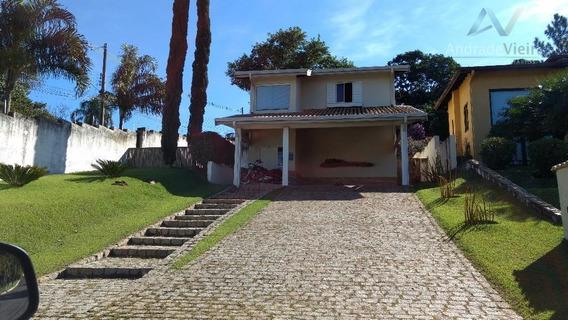 Linda Casa Residencial À Venda, Parque Jatibaia (sousas), Campinas. - Ca0211