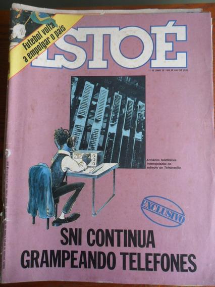 Isto É - Sni E Os Grampos / Futebol (nº 434) Frete Grátis