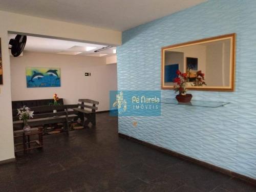 Imagem 1 de 30 de Apartamento Com 1 Dormitório À Venda, 45 M² Por R$ 170.000,00 - Canto Do Forte - Praia Grande/sp - Ap0768