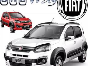 Fiat Uno 1.4 Way Mt Abs Ac Ebd Airbag R14 85hp Ac Alarma Arh