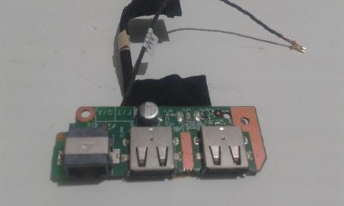 Imagem 1 de 3 de Placa Usb Notebook Itautec W7410