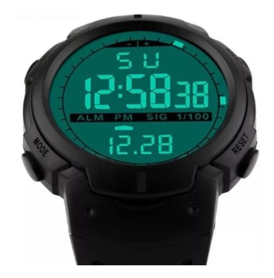Relógio G Sport Shock Digital 100% A Prova D´água Com Caixa