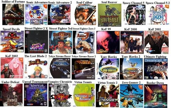 Jogo De Dreamcast (vários Titulos) De Cada 17 Reais