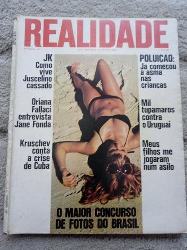 Revista Realidade Nº 59 -de 1971 . Politica Prop. Sumario