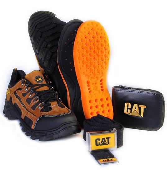 Coturno Bota Tenis Caterpillar Adventure Original+kit Cat