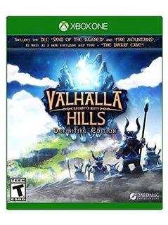 Valhalla Hills Definitive Edition Xbox One Mídia Física Novo