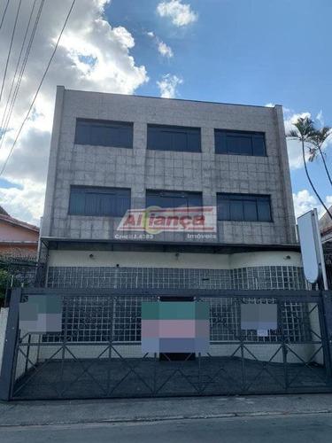 Imagem 1 de 15 de Prédio Para Locação No Bairro Centro Em Guarulhos - Cod: Ai20313 - Ai20313