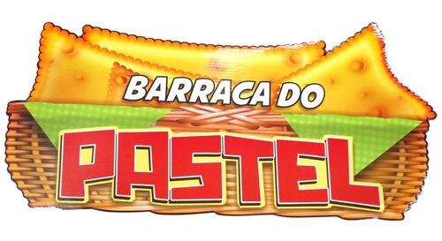 Imagem 1 de 1 de Painel Cartonado De Festa Junina Barraca Do Pastel