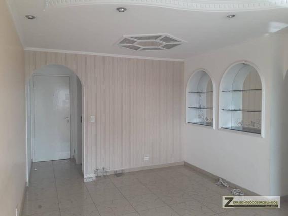 Apartamento Com 3 Dormitórios Para Alugar, 86 M² Por R$ 1.840/mês - Vila Progresso - Guarulhos/sp - Ap0498