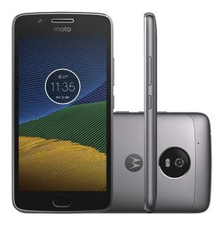 Celular Motorola Moto G5 Xt 1676 16gb 3gb Cinza Seminovo