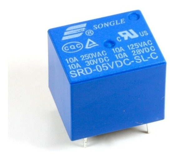 Kit 10 Pçs Mini Relés