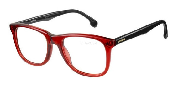 Lentes Gafas Carrera 135v Oftálmicos Fusion Reddish 52mm