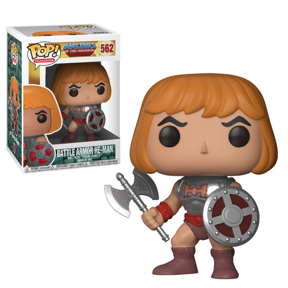 Pop Funko Masters Of The Universe Battle Armor He-man 562