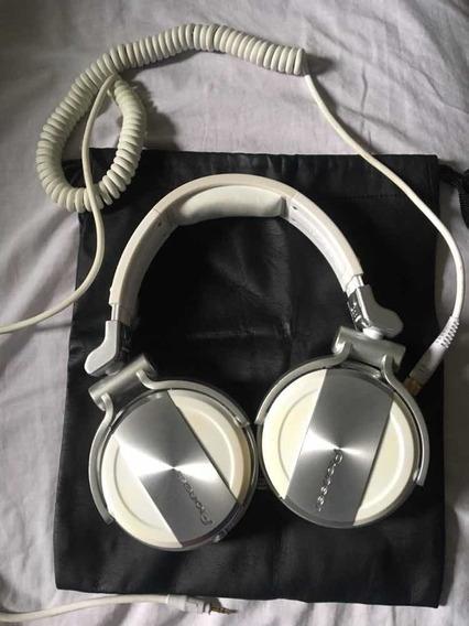 Pioneer Hdj 1500 White - Headfone Profissional