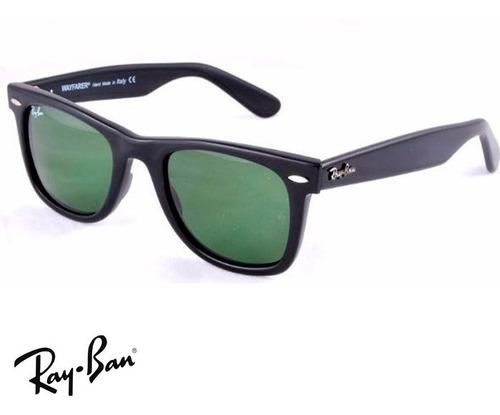 5fc8d619a4 3f 50 Mm !!en Promo!! Ray Ban Wayfarer Rb2140 1001 - Gafas De Sol ...