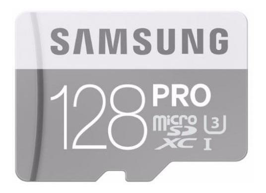 Cartão De Memória 128gb Samsung Pro