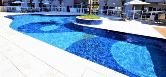 Guarujá Astúrias , Belíssimo Lazer De Clube, 3 Dormitórios (suite), Varanda Gourmet, 2 Vagas, Baixo Custo Mensal - Ap0885