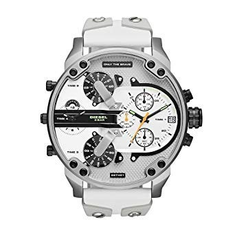 02311be11a92 Reloj Diesel Dz-7401 Mr. Daddy 2.0 Blanco El Original -   329.990 en Mercado  Libre