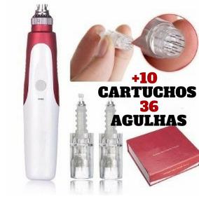 My-m Derma Microagulhamento Trat. De Estrias + 10 Cartuchos