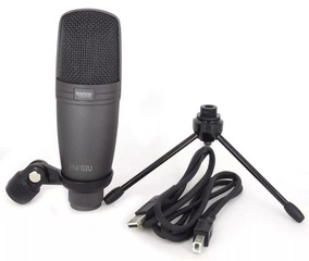 Kit Fone De Ouvido Profissional Microfone Condensador Novik