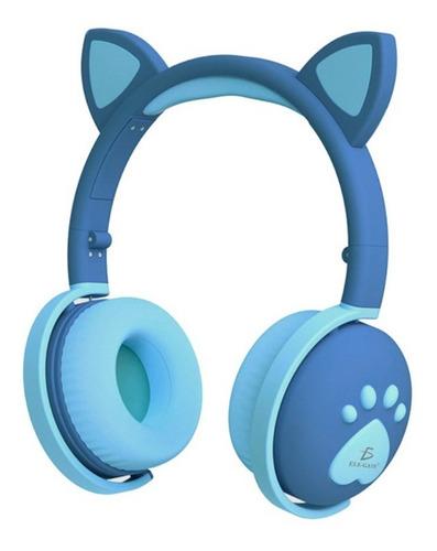 Imagen 1 de 10 de  Audífonos Oreja De Gato Auriculares Bluetooth Recargables