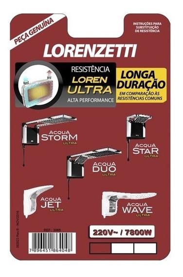 Resistência Lorenzetti Loren Ultra 7800w 220v