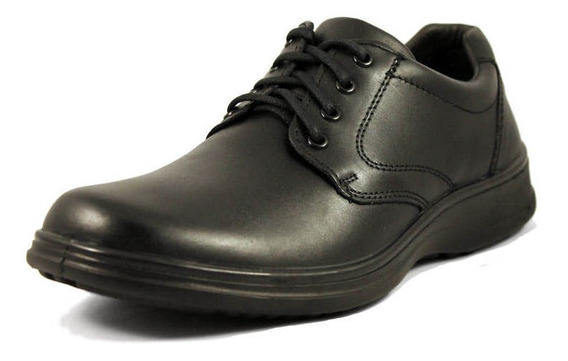 Zapato Flexi Color Negro De Hombre 28.5 Mex