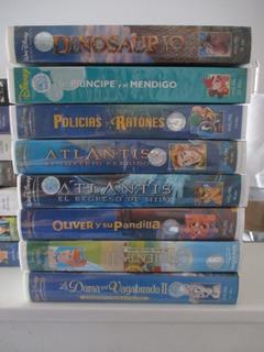 Vhs Películas Disney Originales Colección En Castellano