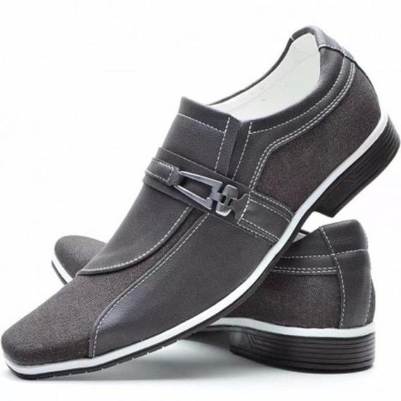Sapato Masculino Elastico Esporte Fino Casual Florense Café