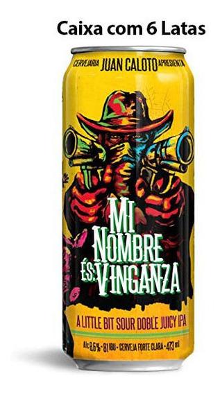 Cerveja Juan Caloto Mi Nombre És Vinganza Caixa C/ 6 Latas 4
