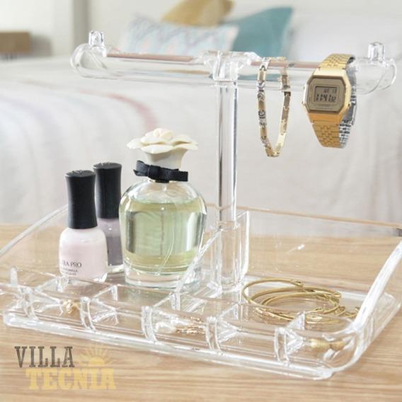 Organizador Cosmeticos Maquillaje Brochas Relojes Acrilico