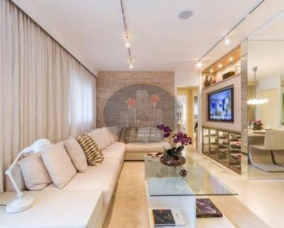 Apartamento Com 3 Dormitórios À Venda, 92 M² Por R$ 664.000 - Jardim Dom Bosco - São Paulo/sp - Ap0792