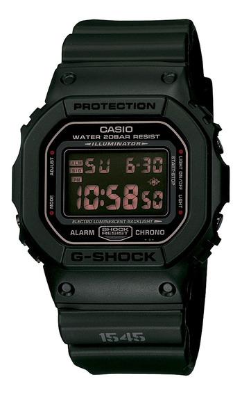 Relógio Casio Masculino Dw-5600ms-1dr Preto - Refinado