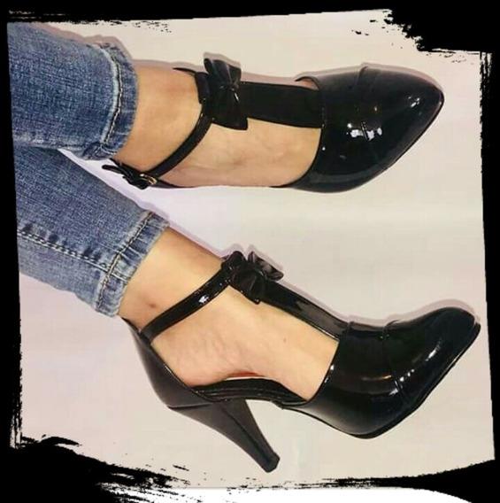 Zapatos Elegantes, Hermosos, Los Puedes Usar Con Falda Y Pan