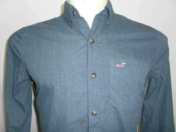 Camisa Esporte Hollister E Aber Masculino Original Consulte