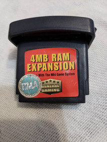 Expansion Pack N64 4mb Nintendo 64 Expansao