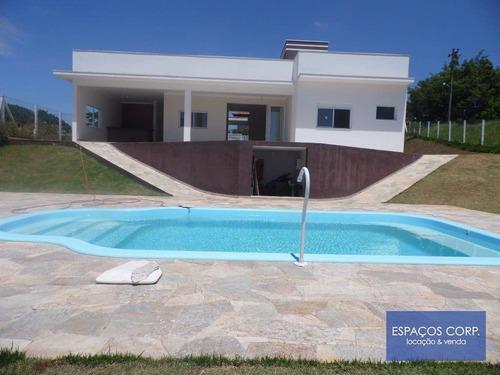 Imagem 1 de 25 de Magnífica Casa Com Projeto Arquitetônico,  À Venda, Vitassay, Boituva. - Ch0012