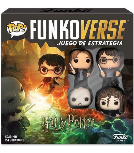 Imagem 1 de 4 de Board Games Funko Pop! Funkoverse Harry Potter 4 Pack 100