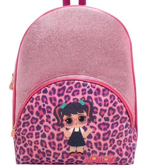 Bolsa Grande Glitter Oncinha Menina Lorena Queiroz 11289905