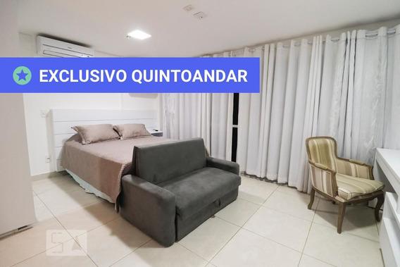 Studio No 23º Andar Mobiliado Com 1 Dormitório E 1 Garagem - Id: 892967984 - 267984