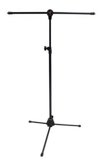 Pedestal Saty Para Microfone Girafa C/ 2 Roscas Spmg20